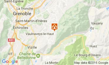 Karte Chamrousse Appartement 107456