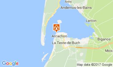Karte Arcachon Appartement 108450