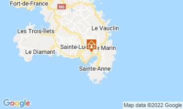 Karte Le Marin Villa 73475