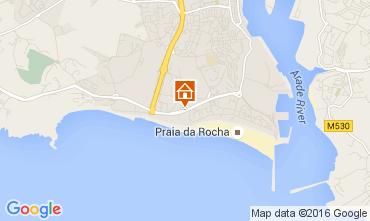 Karte Praia da Rocha Appartement 96529
