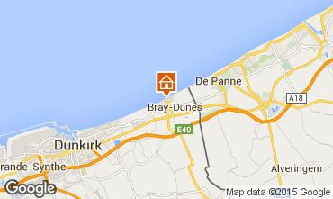 Karte Bray-Dunes Studio 91783