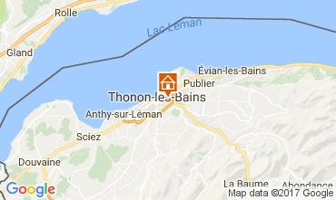Karte Thonon Les Bains Appartement 110536
