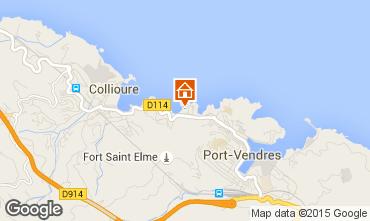 Karte Collioure Appartement 68403