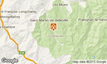 Karte Les Menuires Chalet 86946