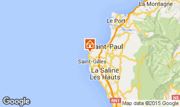 Karte Saint Gilles Studio 94468