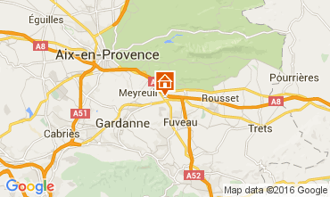 Karte Aix en Provence Appartement 52909