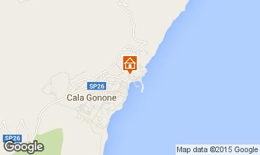 Karte Cala Gonone Appartement 80250