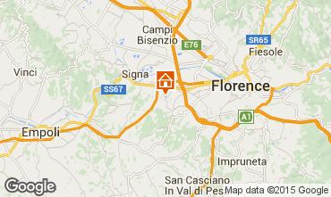 Karte Florenz Appartement 14820