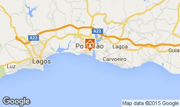 Karte Praia da Rocha Appartement 57982