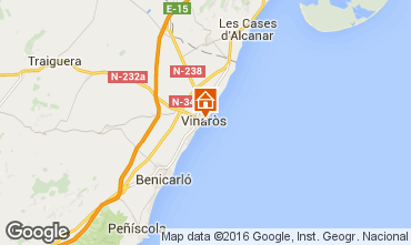 Karte Vinaròs Appartement 102797
