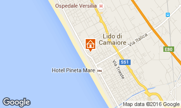 Karte Lido di Camaiore Studio 103223