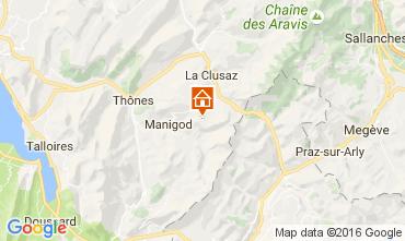 Karte La Clusaz Appartement 843