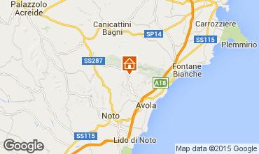 Karte Avola Villa 64759