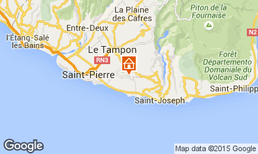Karte Saint Pierre (R�union) Villa 62675