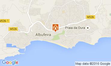Karte Praia da Rocha Appartement 69323