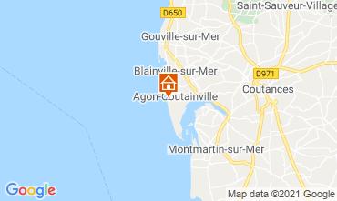 Karte Agon-Coutainville Villa 15234