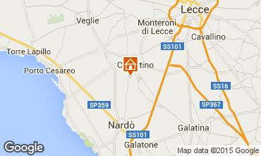 Karte Porto Cesareo Appartement 62909