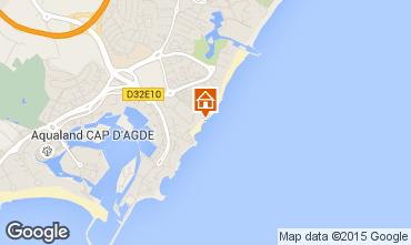 Karte Cap d'Agde Appartement 69123