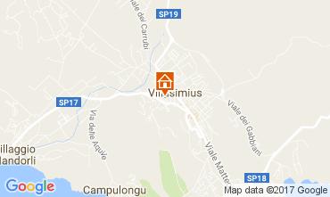 Karte Villasimius Appartement 108506