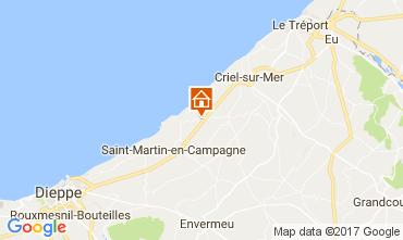Karte Dieppe Mobil-Home 109849