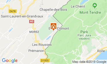 Karte Les Rousses Appartement 3758
