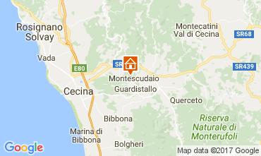 Karte Cecina Appartement 107847