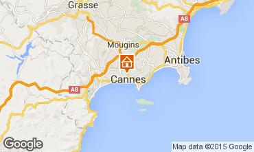 Karte Cannes Studio 87329
