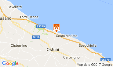 Karte Ostuni Villa 110107