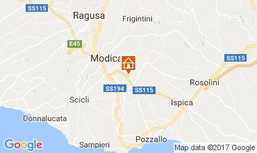 Karte Modica Villa 80757
