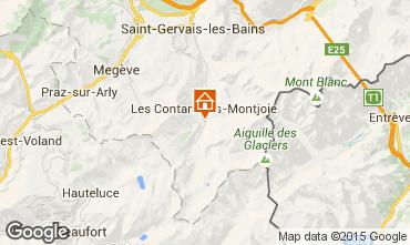 Karte Les Contamines Montjoie Appartement 919