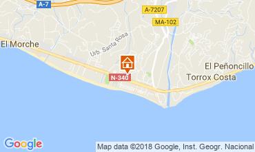 Karte Torrox Appartement 115893