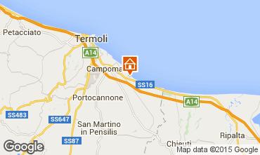 Karte Termoli Appartement 92898