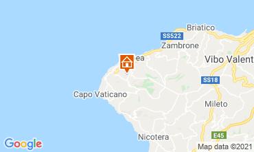 Karte Tropea Appartement 56650