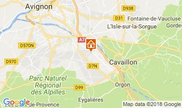 Karte Saint Rémy de Provence Ferienunterkunft auf dem Land 113890