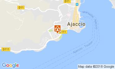 Karte Ajaccio Appartement 113319
