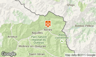Karte Abriès Chalet 69713