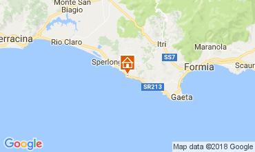 Karte Sperlonga Villa 70140