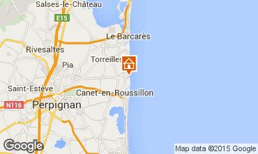 Karte Sainte Marie la Mer Villa 78588