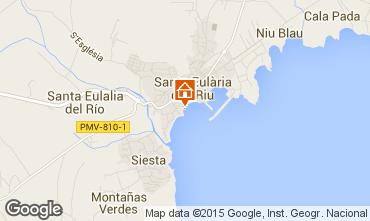 Karte Santa Eulalia del R�o Appartement 55587
