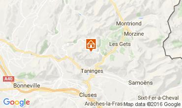 Karte Praz de Lys Sommand Chalet 2355