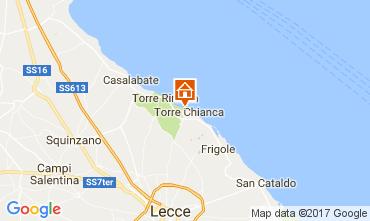 Karte Lecce Villa 110136
