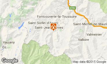 Karte Saint Jean d'Arves Chalet 2501