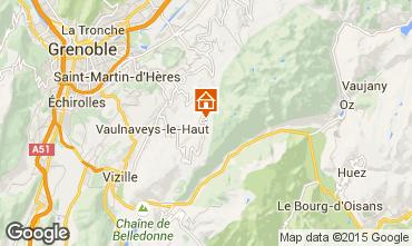 Karte Chamrousse Appartement 91742