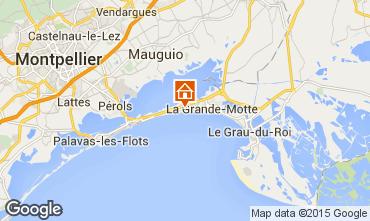 Karte La Grande Motte Villa 75574