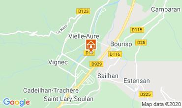 Karte Saint Lary Soulan Appartement 4397
