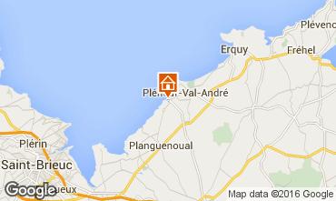 Karte Pleneuf Val André Appartement 77337