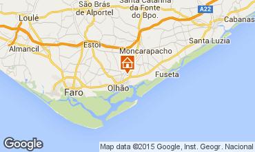 Karte Olhão Appartement 54690
