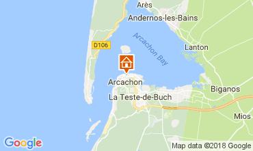 Karte Arcachon Appartement 113009