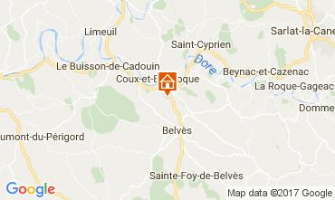 Karte Siorac-en-Perigord Haus 108951