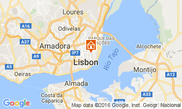 Karte Lissabon Appartement 106641